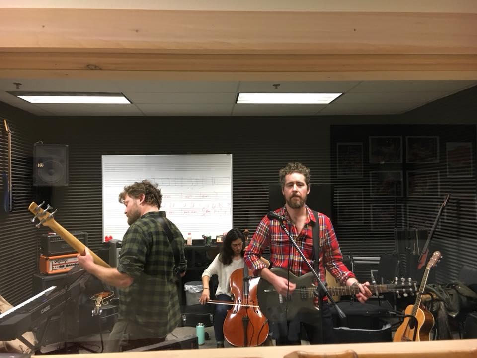 FOG pre-show rehearsal